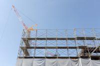 ビルの建設ラッシュ