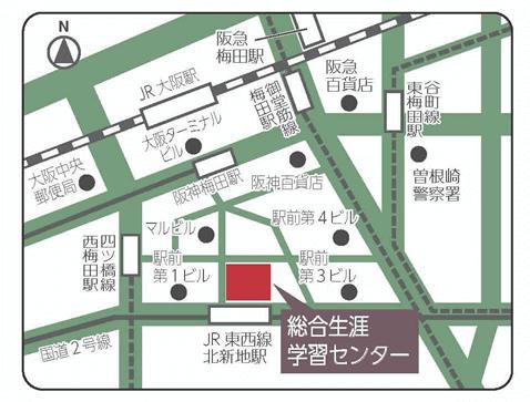 生涯学習センター地図